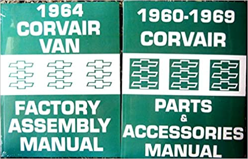 COMPLETE SET 1964 VAN CORVAIR FACTORY ASSEMBLY INSTRUCTION MANUAL