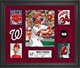 Bryce Harper Washington Nationals Framed 5-Photo Collage with Piece of Game-Used Ball - MLB Player Plaques and Collages