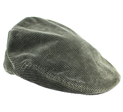 Ralph Lauren Women's Green Corduroy Newsboy Driving Hat Cap (XS / S)