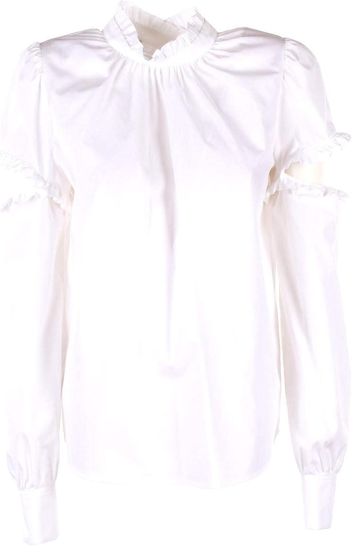 Pinko Camicia Donna 46 Bianco Picozza Autunno Inverno 2018/19