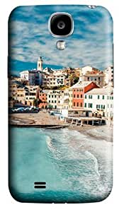 The Cinque Terre View Polycarbonate Hard Case Cover for Samsung Galaxy S4/Samsung Galaxy I9500 3D