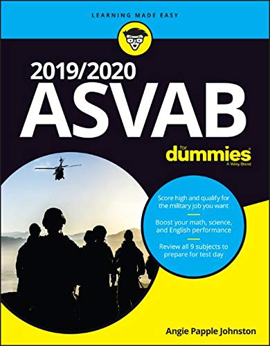 Pdf Test Preparation 2019/2020 ASVAB For Dummies