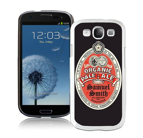 Generic Samsung Galaxy S3 I9300 Samuel Smith Organic Pale Ale White Shell Case (Samuel Smith Ale)