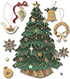 Jolee's Boutique Dimensional Stickers, Christmas Tree