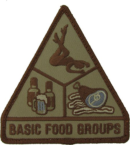 Basic Food Groups Morale Patch )