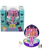 Polly Pocket HFJ64 - Starlight kasteelkistje met accessoires en pop, vanaf 4 jaar