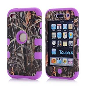 iPod Touch 4th generation case,ipod. touch 4 case,ipod touch 4 case,ipod touch. 4 case,ipod.touch 4 cases,Gotida Straw Grass Mossy Camo Hybrid Cover Case for iPod Touch 4th