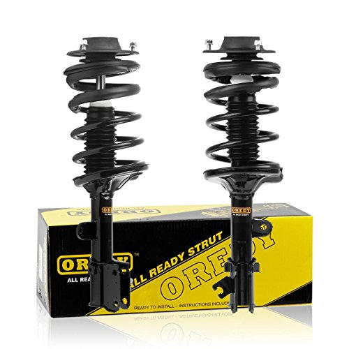 Hyundai Shock Absorbers (Front Left & Right Complete Quick Struts Shock Coil Spring Assembly Kit for 2005-2009 Hyundai Tucson 2005-2010 Kia Sportage)