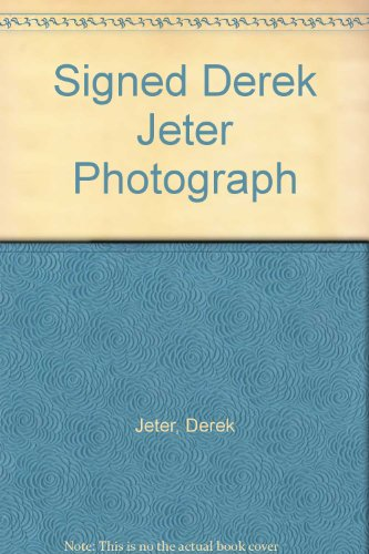 Signed Derek Jeter Photograph