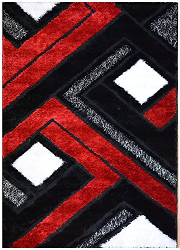 Royal Collection Black Red And White Contemporary Abstract