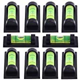 10x Magnetic Bubble Spirit Level - Magnetic Leveling Tool for TV Mounts