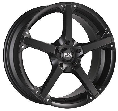 FX10 18X8 5X114.3 Black by FX WHEEL (Image #1)