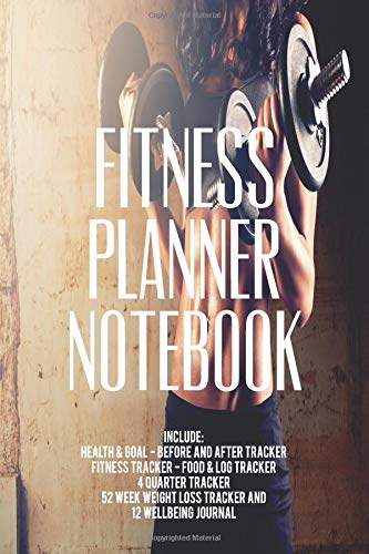 Fitness Planner Notebook / Fitness Planning Journal: Fitness ...
