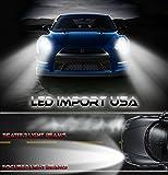 LED Import USA Cree Kit Headlight H3 Pure white 6000k 30w 5000LM 2 Yr Warranty