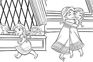 La Reine Des Neiges 2 Maxi Colo Disney Amazon Fr Disney