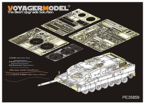 ボイジャーモデル 1/35 現用ドイツ軍 レオパルト2A7 エッチング基本セット モンモデルTS-027 プラモデル用パーツ PE35859の商品画像