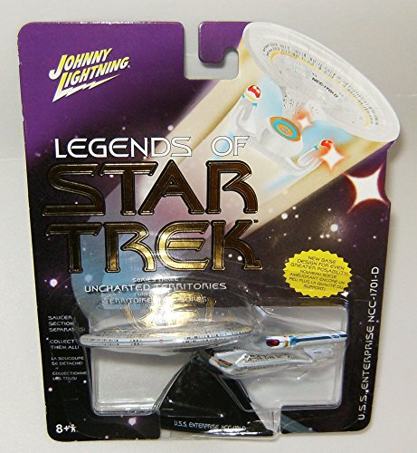 Legends of Star Trek USS Enterprise NCC-1701-D Series 3 Uncharted Territories (Star Trek Future Enterprise)