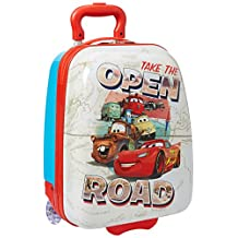 American Tourister 74723 Disney Cars 18 Inch Upright Hardside Children's Luggage, Cars