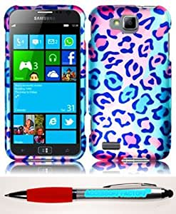 Accessory Factory(TM) Bundle (the item, 2in1 Stylus Point Pen) For Samsung ATIV S T899m Rubberized Design Cover Case - Cute Animal