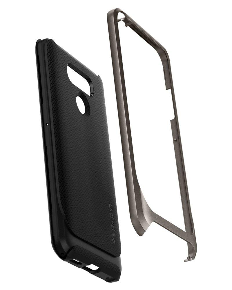 Gunmetal Spigen Neo Hybrid Reinforced Hard Bumper Case