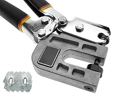 "Metal Stud Crimper Punch Lock Framing Fastening Crimping Single Hand Tool 10"""
