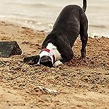 SUPMEGA Case for AirTag Dog Collar Holder, Flexible