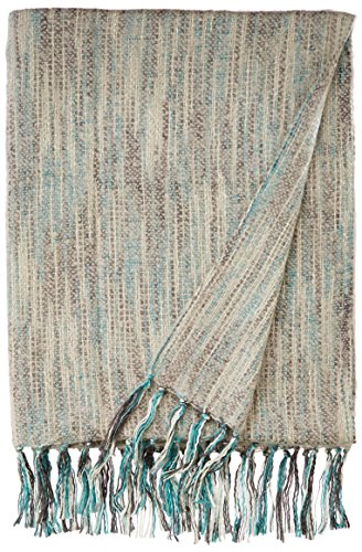 Bedford Cottage Zephyr Brushed Mohair Type Throw, 50 by 70-Inch, ()