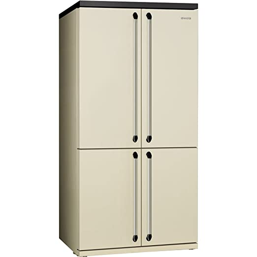 Smeg FQ960P Independiente A+ Crema de color nevera puerta lado a ...