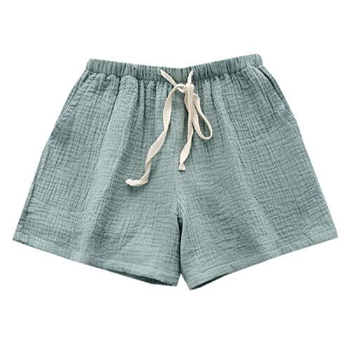 Cotone Mmllse Pantaloni Casa Coppia In Pigiama Photo Estate Color Spiaggia Pantaloncini Uomo Donna Pantaloni E Pantaloni R81qBpR