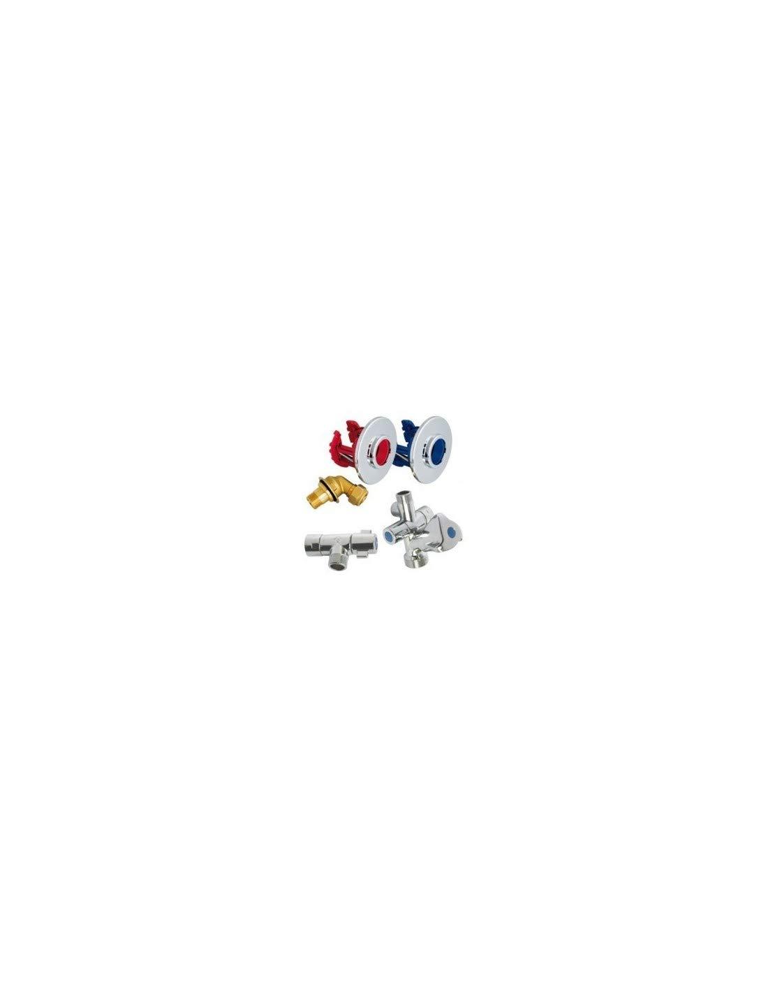 Kit FIXOPLAC raccord à compression pour lavabo PER 13/16 - Somatherm 3540737808748