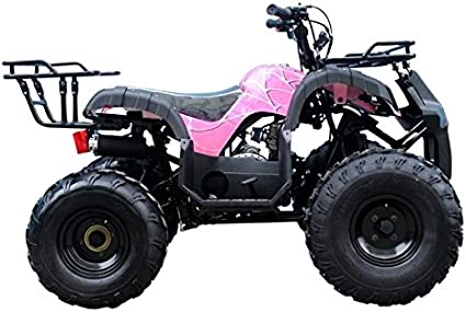 Awesome Black Color TAO Smart Deals Now Brings ATV Model # TForce 110cc with Big Rugged Wheels