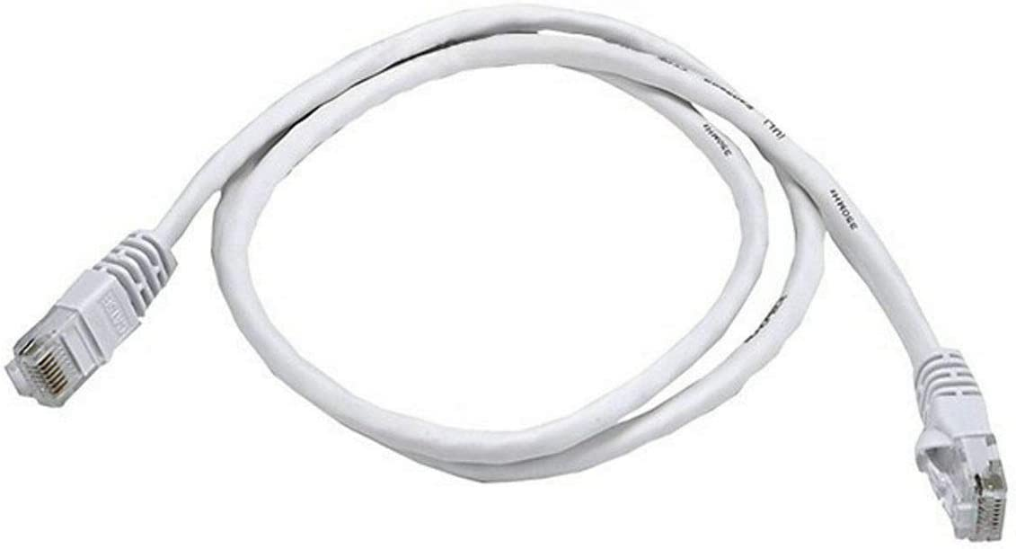 White Cat6 10FT Patch Cord Cable 500mhz Ethernet Internet Network LAN RJ45 UTP #SJB