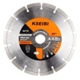 7 inch diamond wet saw blade - KSEIBI 641170 General Purpose 7 Inch Dry Wet Cutting Segmented Diamond Saw Blade with 7/8 Inch Arbor for Concrete Stone Brick Masonry