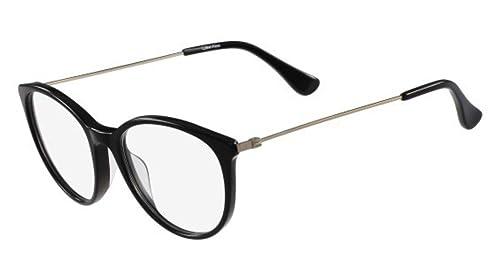 Calvin Klein Platinum – CK5928, Rechteckig, allgemein, Damenbrillen, JET(001), 50/17/135