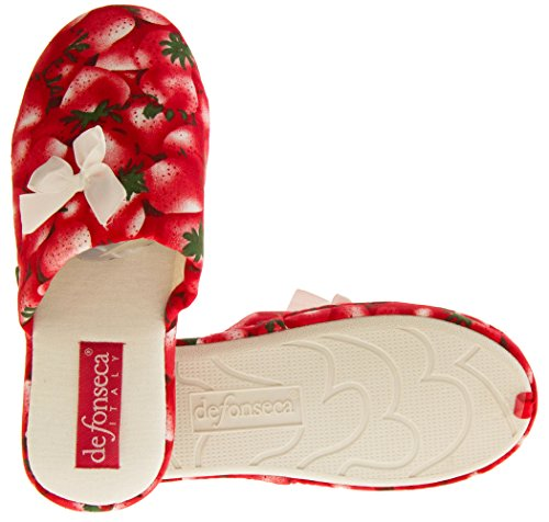 strawberry Rouge Red Femme L'arrière Ouvertes Footwear Studio À xCnPqUnaw