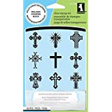 Inkadinkado Clear Stamps, Crosses Inchies