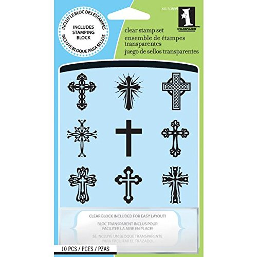Inkadinkado Clear Stamps Crosses Inchies