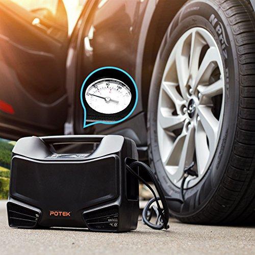 Potek Tire Inflator/Air Compressor Electrical for Home