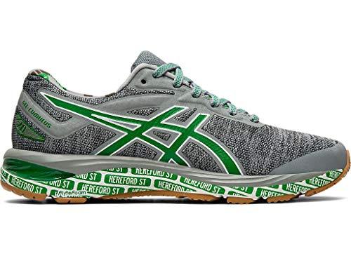 ASICS Women's Gel-Cumulus 20 Boston Running Shoes, 8.5M, Stone Grey/White