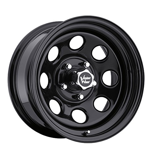 Vision 85 Soft 8 Black Wheel with Painted Finish (15x7/5x139.7mm) by Vision
