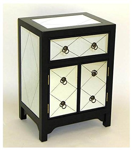 Mirror Chest, Black by Charleston