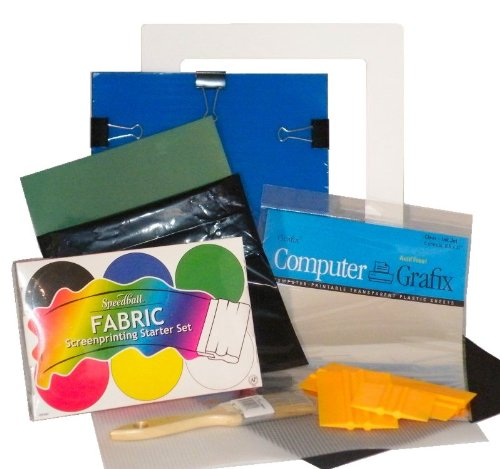 Screen Print a T-Shirt in less than an hour with this DIY Complete Screen Printing Kit with everything you need! Includes Speedball ink set -EZScreenPrint by EZScreenPrint