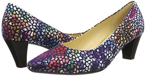 Gabor Donna Scarpe 46 river 65 Shoes Tacco 14 Con Blu anwraq7Y