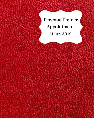 ointment Diary 2019: April 2019 - Dec 2019 Appointment diary. Day to a page with hourly client times to ensure home business organization. Red leather look design ()