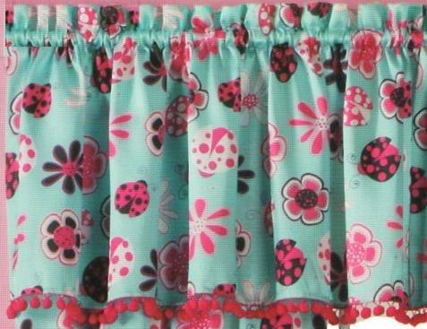 Lady Love (Ladybug & Flowers) Window ()