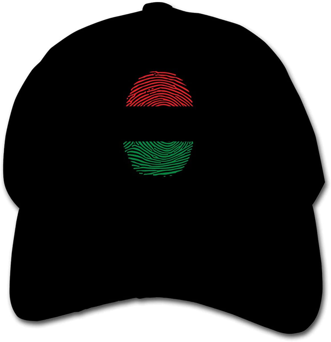 Pan Africa Fingerprint Kids Baseball Cap Hat Unisex Toddler Sun Hat Adsjutable Trucker Hat