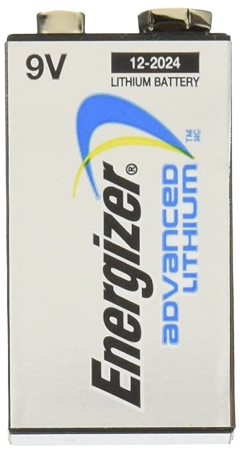 Energizer LA522 9V Industrial Lithium Battery for Smoke Detectors