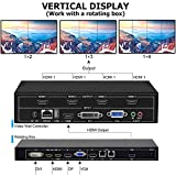 fomobest Video Wall Controller 2x2 TV Wall