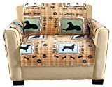 The Paragon Furniture Cover - Chair Furniture Protector, Soft Fleece Fabric, Chair Cover Shield Protects Fabric from Pet Stains and Every Day Wear