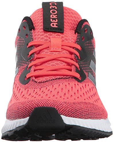 Adidas Womens Aerobounce W Scarpa Da Running Facile Corallo / Argento Metallizzato / Rosso Tattile